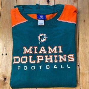 NFL Miami Dolphins long sleeve cotton shirt XL
